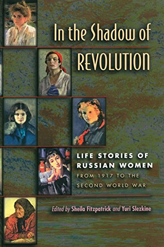 9780691019499: In the Shadow of Revolution: Life Stories of Russian Women from 1917 to the Second World War