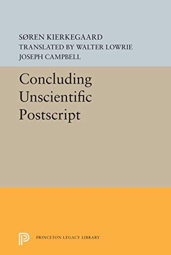 Kierkegaard's Concluding unscientific postscript;: Kierkegaard, S?ren
