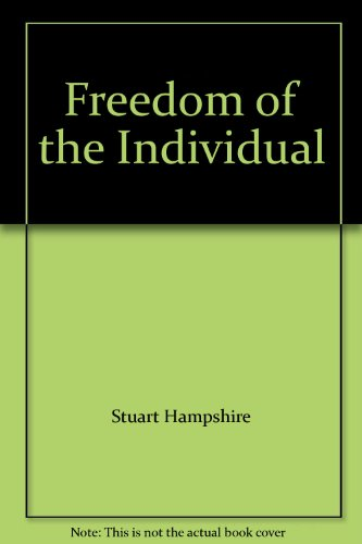 9780691019840: Freedom of the Individual (Princeton Legacy Library)