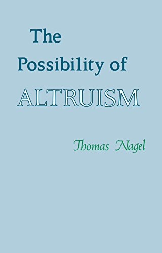 9780691020020: Possibility of Altruism