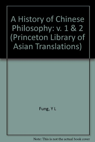 9780691020242: History of Chinese Philosophy