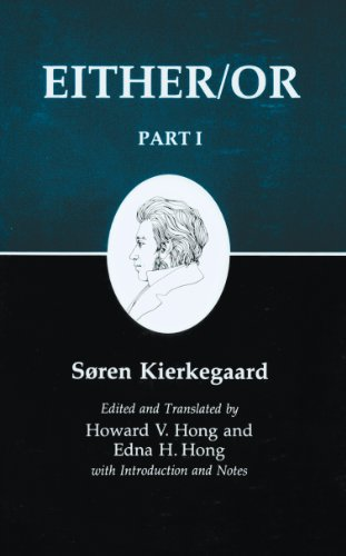 9780691020419: Either/Or, Part I (Kierkegaard's Writings, 3)