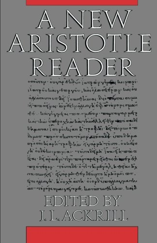 9780691020433: A New Aristotle Reader