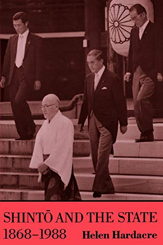 9780691020525: Shinto and the State, 1868-1988 (Studies in Church and State)
