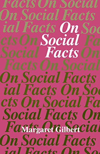 9780691020808: On Social Facts