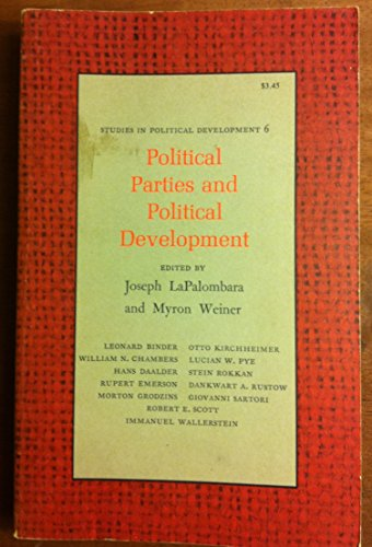 9780691021638: Political Parties and Political Development. (SPD-6) (Studies in Political Development)