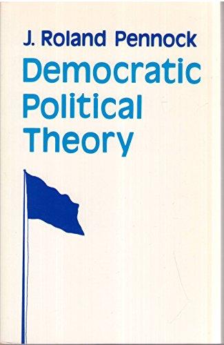 9780691021843: Democratic Political Theory