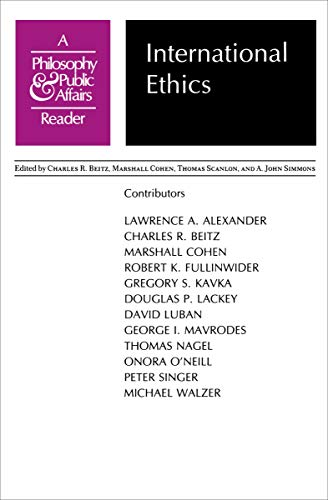 International Ethics: Lawrence A. Alexander,