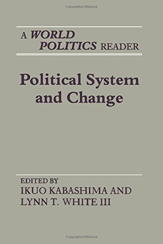 9780691022444: Political System and Change: A