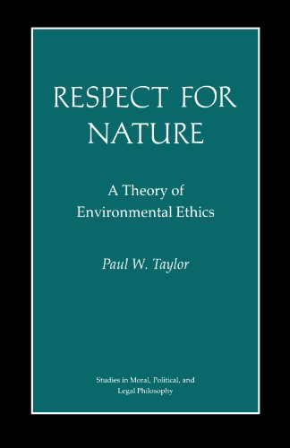 9780691022505: Respect for Nature: A Theory of Environmental Ethics (Studies in Moral, Political, and Legal Philosophy)