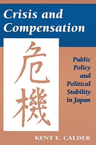 Crisis and Compensation: Calder, Kent E.