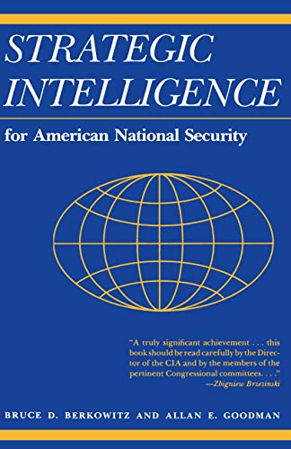 9780691023397: Strategic Intelligence for American National Security: With New Afterword