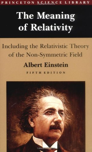 9780691023526: The Meaning of Relativity