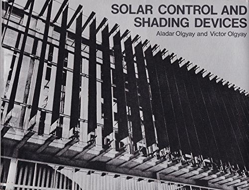 9780691023588: Solar Control and Shading Devices