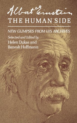 9780691023687: Albert Einstein, The Human Side: New Glimpses From His Archives