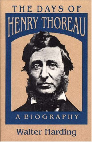 9780691024790: The Days of Henry Thoreau: A Biography