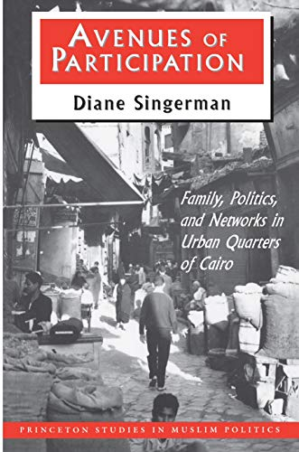9780691025681: Avenues of Participation : Family, Politics, and Networks in Urban Quarters of Cairo