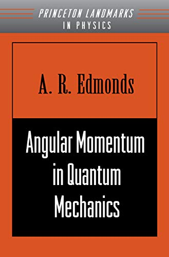 9780691025896: Angular Momentum in Quantum Mechanics