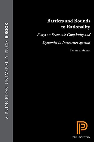 Barriers and Bounds to Rationality: Essays on Economic Complexity and Dynamics in Interactive ...