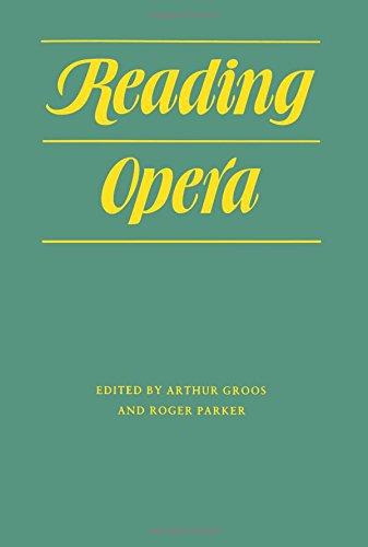 9780691027098: Reading Opera (Princeton Legacy Library)