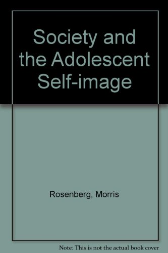 9780691028057: Society and the Adolescent Self-Image