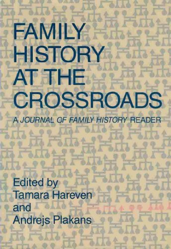 "Family History at the Crossroads: A ""Journal: Hareven, Tamara K."