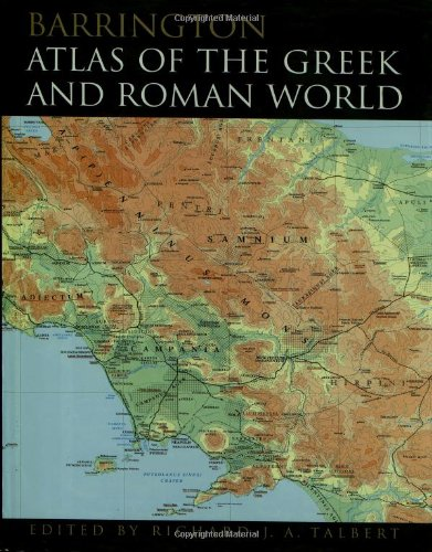 9780691031699: Barrington Atlas of the Greek and Roman World