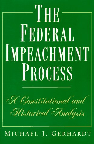 9780691032955: The Federal Impeachment Process