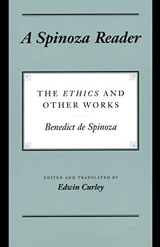 9780691033631: A Spinoza Reader