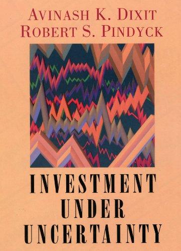9780691034102: Investment Under Uncertainty