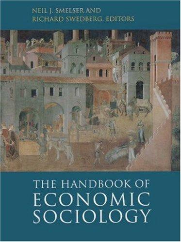 9780691034485: The Handbook of Economic Sociology