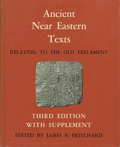 9780691035031: Ancient Near Eastern Texts Relating to the Old Testament with Supplement