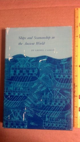 9780691035369: Ships and Seamanship in the Ancient World