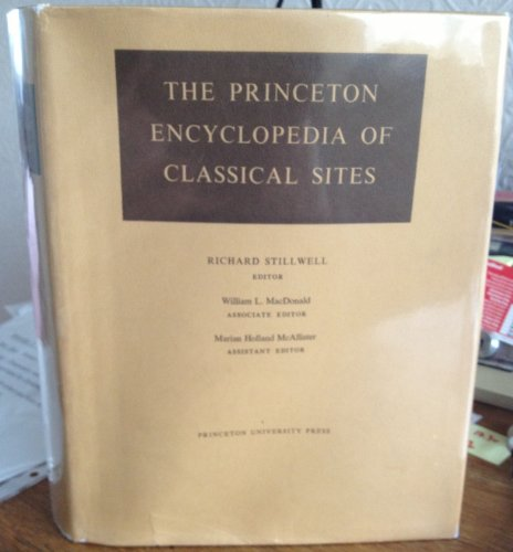 9780691035420: The Princeton Encyclopedia of Classical Sites