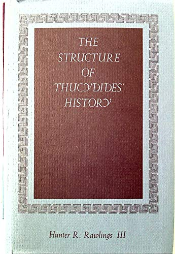 The structure of Thucydides' History.