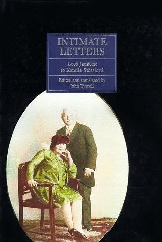 9780691036489: Intimate Letters: Leos Jan�cek to Kamila St�sslov� (Princeton Legacy Library)