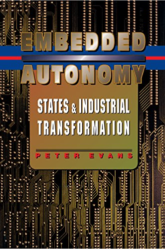 9780691037363: Embedded Autonomy: States and Industrial Transformation