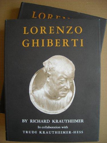 Lorenzo Ghiberti (Monographs in Art & Archaeology) 2 Volumes: Krautheimer, Richard; ...
