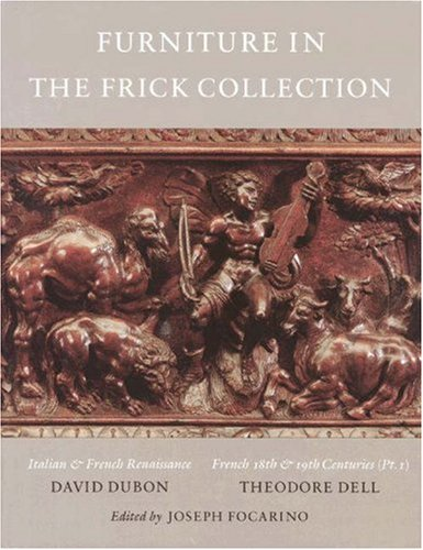 9780691038674: The Frick Collection, An Illustrated Catalogue. Volumes V and VI: Vol. V. Italian and French Furniture. Vol. VI. French Furniture and Gilt Bronzes: Italian and French Furniture v. 5