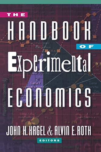9780691042909: The Handbook of Experimental Economics