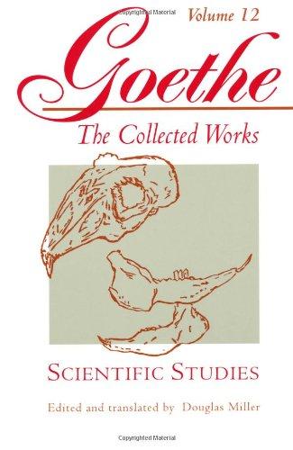 9780691043470: Scientific Studies (Goethe: The Collected Works, Vol. 12)