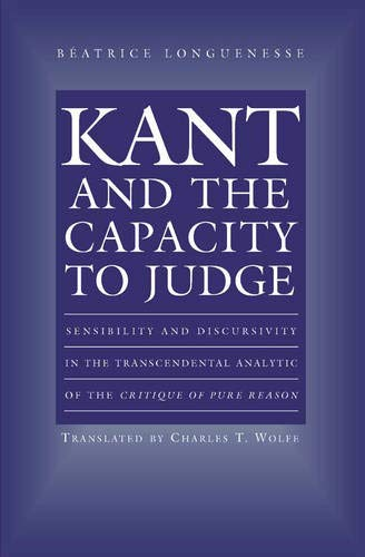 9780691043487: Kant and the Capacity to Judge