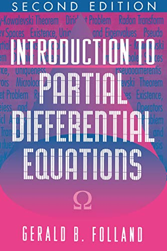 9780691043616: Introduction to Partial Differential Equations. Second Edition