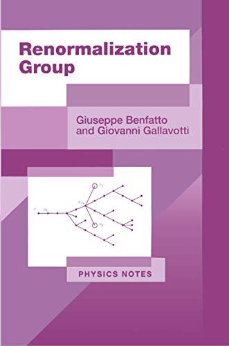 Renormalization Group (Paperback) - Giuseppe Benfatto, Giovanni Gallavotti