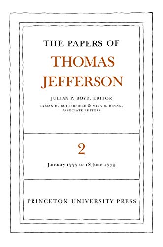 9780691045344: The Papers of Thomas Jefferson, Vol, 2: January 1777 to June 1779