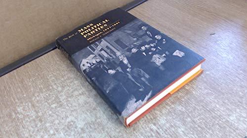 The Birth of Mass Politcal Parties: Michigan, 1827-1861: FORMISANO, RONALD P.
