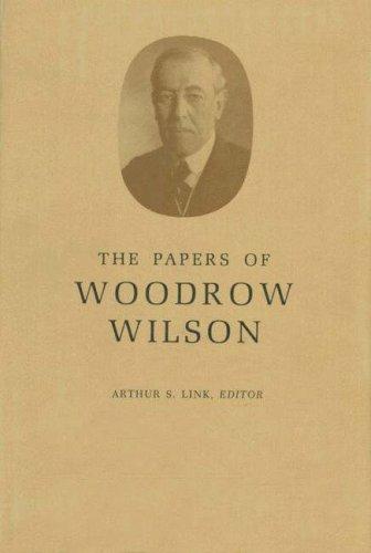 The Papers of Woodrow Wilson. Volume 45. November 11, 1917-January 15, 1918: Woodrow Wilson