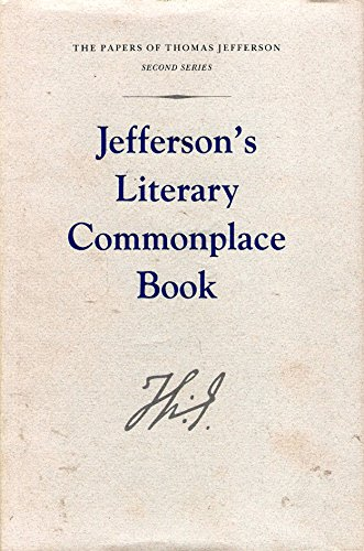 9780691047201: Jefferson's Literary Commonplace Book (Papers of Thomas Jefferson, Second Series (5))
