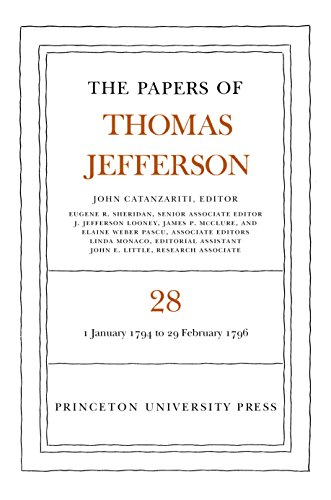 9780691047805: The Papers of Thomas Jefferson, Volume 28