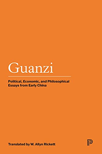 9780691048161: Guanzi: Political, Economic, and Philosophical Essays from Early China: v. 2 (Princeton Library of Asian Translations)